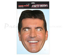 Simon Cowell Celebrity Character Face Mask Fancy Dress Party Face Mask