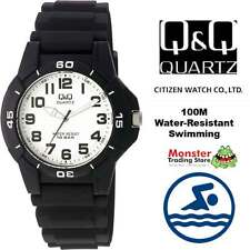 AUSSIE SELLER GENTS DIVERS STYLE WATCH CITIZEN MADE VQ84J001 100-METRES WATER