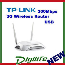 TP-Link TL-MR3420 Wireless N300 300Mbps 3G/4G Router USB