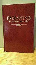 1995 German Book Erkenntnis - Religion, Jesus - Watch Tower Bible Assn - Germany