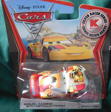 Disney Pixar Cars 2 Silver Racer Series MIGUEL CAMINO w/METALLIC FINISH  2012
