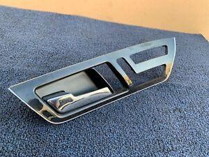 ✔MERCEDES W216 CL63 CL65 CL600 CL550 FRONT LEFT SIDE WOOD DOOR HANDLE OEM