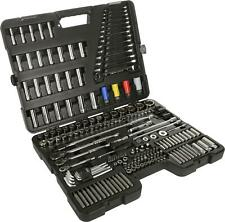 Halfords Advanced 200 PC Socket and Ratchet Spanner Set Workshop Tools
