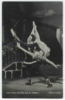 Ballet Dancers Nadia Nerina David Blair and Ragtime Dancers Lot of Two Postcards