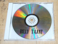 rare Billy Talent CD advance copy different song order promo self titled