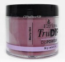 EzFlow TruDIP Colored Acrylic Dip Powder 2oz/56g SERIES 2 - Pick Your Color