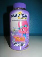 1 A Day Kids Trolls Complete Multi Vitamin D B A E Gummies 180 Childrens 5/21