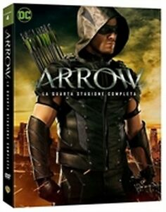 Arrow - Stagioni 1 - 4 (19 DVD) - ITALIANI ORIGINALI SIGILLATI -