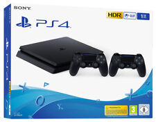 CONSOLE SONY PLAYSTATION 4 PS4 1TB CHASSIS F NERA DS4V2 + 2 CONTROLLER