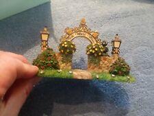 PartyLite Olde World Village Arbor Gateway Arch in Box Retired P7322Hc New Nib