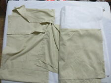 """Possibly Mainstays Solid 14"""" Bed Skirt Full Beige Nwot Open Fs"""