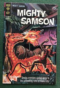 Mighty Samson #16 Gold Key Bronze Age sci-fi comics dystopian vg