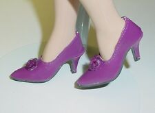 "Doll Shoes, Monique Gold 48mm DK Purple  ""My Fair Lady"" for Tyler, Sybarite"