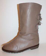 70er 70s Vintage TRUE VTG LEDER Stiefel warm gefüttert SEMLER leather BOOTS 37