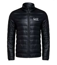 EA7 Emporio Armani Quilted Funnel Neck Down Jacket Black 8NPB01 PN29Z Size 2XL