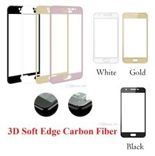 Full Coverage 3D Soft Edge Tempered Glass Film For Samsung Gal S7 - 3 COLOUR*