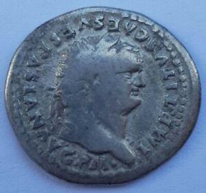 Titus (AD 79-81). AR Denier. Rome