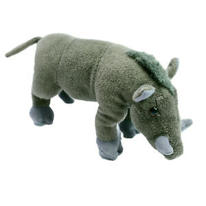 Deagostini Warthog Plush Soft Stuffed Toy 19cm Washed and  Clean Beans in Belly