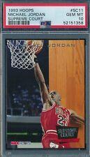 MICHAEL JORDAN 1993-94 NBA HOOPS SUPREME COURT PSA 10 GEM MINT INSERT CARD #SC11