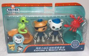 Octonauts Kwazii & Barnacles Explore & Rescue Pack Gup-A Gup-B Bath Toy *New*