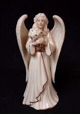 Lenox Angelic Visions Friend Angel With Flowers Angel Nativity Figurine No Box