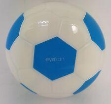 Blue Football Coloured Contact Lens Lenses Travel Kit - Mirror - Case Tweezers