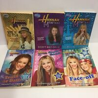 Hannah Montana Books x 6 - Miley Cyrus Disney - Book of the Film - Exclusives