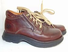 TIMBERLAND SMART 7 M BROWN LEATHER HIKING BOOTS $120