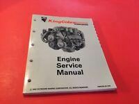 "OMC King Cobra Stern Drives ""JV"" Engine Service Manual P/N 508291"