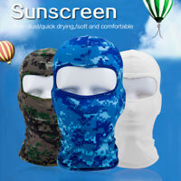 Camouflage Balaclava Full Face Mask Helmet Tactical Motorcycle Cycling Outdoor