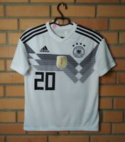 Germany Jersey 2018 Home Adidas Youth 13-14 Shirt Football Soccer Trikot Maglia
