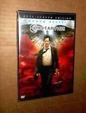 Constantine! Keanu Reeves & Rachel Weisz! Full-Screen Edition! 1 Disc! VG Cond!