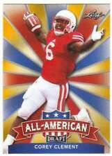 2017 Leaf Draft Football All-American Gold #AA-05 Corey Clement