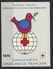 Carnet Croix-Rouge 1974 ** - Superbe