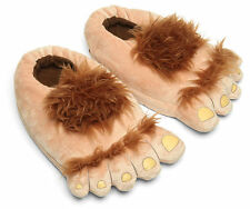 Furry Adventure Slippers Hairy Plush Hobbit Feet Adventure Costume Novelty