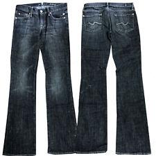 W28 NEU W24 7 for all mankind Damen Jeans Hose Bootcut Hüftjeans Gr