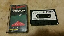 Snooker Video Game Cassette Commodore 64 C64/C128 💜💜💜 FREE POST