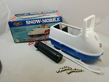 Vintage Mego Action Jackson SNOWMOBILE with box! Adventure action figure