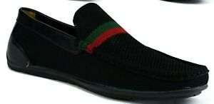 MENS CASUAL DESIGN FLAT SLIP ON PARTY LOAFERS DRIVING SHOES UK SIZES 6 - 12