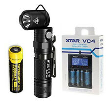 NITECORE MT21C 1000 Lumen Adjustable Flashlight w/NL183 Battery & VC4 Charger