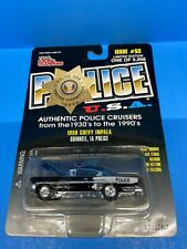 Racing Champions Police USA 1958 Chevy Impala Grinnell IA Police 1:64