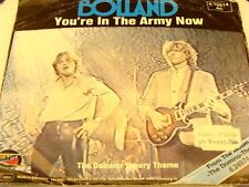 BOLLAND - You're In The Army Now - NEAR MINT- 1982 w/ Pic. Sleeve -HOLLAND PRESS
