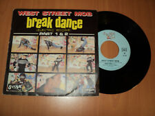 "WEST STREET MOB / Break dance part 1 & 2(1983) 7"" SP !!! french press"