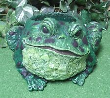Chubby Frog Toad Planter Urn Vase Latex Fiberglass Mold Concrete Plaster