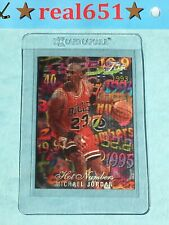1995 Flair Hot Numbers #4 MICHAEL JORDAN | SP Presents VN | Chicago HOF Bulls