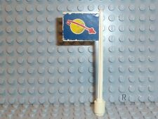 LEGO ® Classic Space bandiera bandiera 6970 BETA Command Base 3596pb06 di 1980 r517
