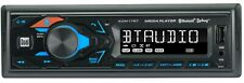 High Resolution LCD Single DIN Car Stereo Receiver with Built-In Bluetooth