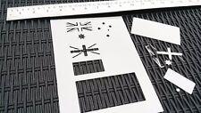AU Australiano Bandiera Stencil Disegnare Dipingere patriottico Design Carta Auto Bici Pinta