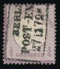 D.Reich Nr. 1 gestempelt, 1/4 Gr. kleiner Schild (59404)