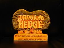 1989 Under the Hedge Lilliput Lane Land of Legend Dealer Sign